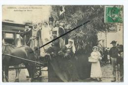 CPA - Carhaix - Cavalcade De Bienfaisance - Ambulance Au Maroc - Carhaix-Plouguer