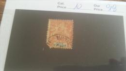 LOT 232527 TIMBRE DE COLONIE COTE IVOIRE OBLITERE N�10 VALEUR 18 EUROS