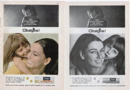 1967/8 - CIBALGINA  -  3 P. Pubblicità Cm.13,5 X18,5 - Magazines