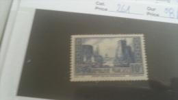 LOT 232562 TIMBRE DE FRANCE NEUF* N�261 VALEUR 84 EUROS