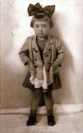 Kleines Mädchen Mit Großer Haarmasche, Fotokarte Fotograf Aus Guntramsdorf NÖ - Kinder