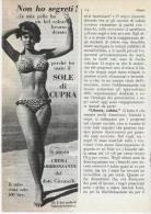 1967/8 -  SOLE DI CUPRA (dott. Ciccarelli)  -  2 Pagina Pubblicità Cm.13 X18 - Magazines