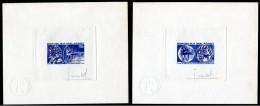 MADAGASKAR 1974 TABLE TENNIS Epreuves d'artiste, sign�es J. Combet