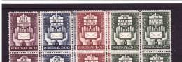 PORTUGAL 1949 75° Ann. Universal Postal Union Michel  Cat. N° 726/29 Mint Never Hinged MNH** - 1910-... Republic