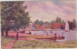 Oulton Broad, Oilette. Unused Card.