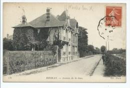 CPA HERBLAY, AVENUE DE LA GARE, VAL D´OISE 95 - Herblay