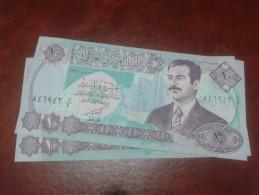 IRAQ banknote, 2�10 DINARS P- 81, 1992, UNC