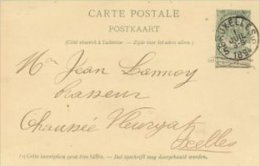 Belgium - Carte Postale  -  Postal Stationery.    S-1727 - Stamped Stationery