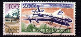 Dahomey  PA  N° 24 & 25  Oblitéré  Cote Y&T  2,20  €uro  Au Quart De Cote - Benin – Dahomey (1960-...)
