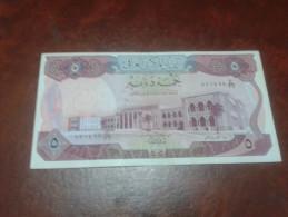 IRAQ banknote, 5 DINARS P- 64, 1973, XF