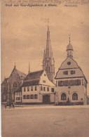 (f) Gau-Algesheim - Marktplatz - Allemagne