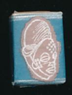 Sucre SAINT-LOUIS : Masque Punu, Gabon, Afrique (4 Scans) - Sugars