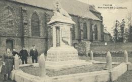 Tertre - Monument Des Combattants - Personnages ( Voir Verso ) - Saint-Ghislain