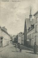 Warneton - Rue De La Gare, Personnage - Feldpost 1915 ( Voir Verso ) - Komen-Waasten