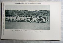 COLONIA ERITRE - INIZIO 900 - ASCARI -TIRO ALLA CORDA - Eritrea