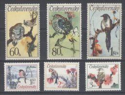 Czechoslovakia - 1972 Songbirds MNH__(TH-10772) - Checoslovaquia