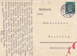 DR 389 Ef Auf Postkarte Der 7. Bayerischen Kraftfahr-Abteilung, Stempel: München 26.7.1928 - Duitsland