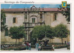 SANTIAGO DE COMPOSTELA PLACE ET PALAIS DE FONSECA(dil47) - Santiago De Compostela