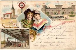 Gruss Aus Deutsch Avricourt - Précurseur - Other Municipalities