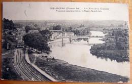 Cpa TAILLEBOURG 17 Les Rives De La Charente - Vue Panoramique Prise Sur Le Chalet Saint Louis - France