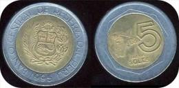 PEROU_ 5  NUEVOS SOLES_ANNEE 1995  (lima) _  LOT N° 8774 - Pérou