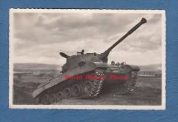 CPA Photo - ST  WENDEL ( Sarre ) - Char D´un Régiment De Cuirassiers - TOP - 1954 - Saint Sankt - Militaria