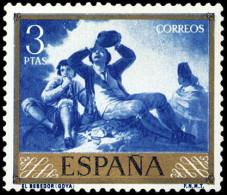 ESPAÑA SEGUNDO CENTENARIO NUEVO Nº 1219 ** 3P AZUL GOYA - 1931-Aujourd'hui: II. République - ....Juan Carlos I