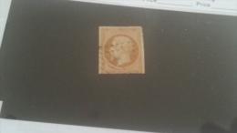 LOT 232614 TIMBRE DE FRANCE OBLITERE N�13B VALEUR 30 EUROS