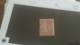 LOT 232670 TIMBRE DE FRANCE NEUF* N�131 VALEUR 77 EUROS