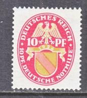 GERMANY  B 16  *   1926 Issue - Germany