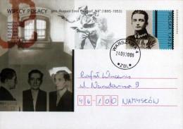 "Poland Pologne, WWII, General August Emil Fieldorf ""Nil"", Partisans, Postal Stationery 2008. - WW2"