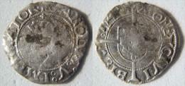 France Franche Comté Besançon Doubs Charles V Quint Carlus Quintus Blanc De Billon 1548 Carolus Karolus Karolvs - 476-1789 Monnaies Seigneuriales