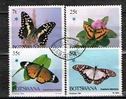 BOTSWANA /Oblitérés/Used/1984 - Papillons - Botswana (1966-...)