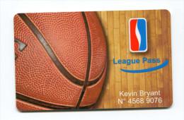 Spécimen Prototype Essai De Carte Membre De Club De Basketball - Kleding, Souvenirs & Andere