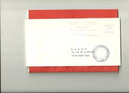 LETTRE DE GREVE EMA CHAMBRE DE COMMERCE D'INDRE ET LOIRE - Postmark Collection (Covers)