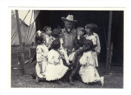 Etats Unis: Buffalo Bill And Children, Cody, Wyoming, Timbre (14-3645) - Cody