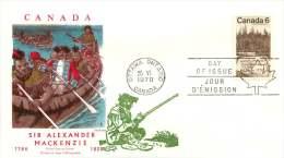 1970  Sir Alexander Mackensie  Sc 516  -  Jackson Cachet Embellished By Overseas Mailers - 1961-1970