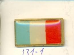 131-1- Pin Bandera Francia - Ciudades