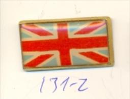 131-2. Pin Bandera Inglesa - Ciudades