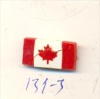 131-3. Pin Bandera Canada - Ciudades