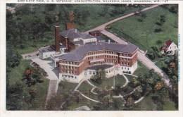 Wisconsin Waukesha Birds Eye View U S Veterans Administration Waukesha Annex - Waukesha