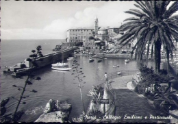 Nervi - Collegio Emiliani E Porticciuolo - 66 - Formato Grande Viaggiata - Genova