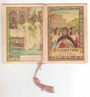 5-Calendarietto Da Barbiere-Il Decamerone 1952-Facciate 20 Cui 10 Illustrate-Salone Carcagnolo Francesco-Paternò-Catania - Calendriers