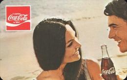 COCA-COLA * SOFT DRINK * WOMAN * GIRL * BUDAPEST * CALENDAR * BLV 1976 * Hungary - Calendarios