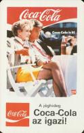 COCA-COLA * SOFT DRINK * WOMAN * GIRL * BUDAPEST * CALENDAR * BLV 1988 * Hungary - Calendarios
