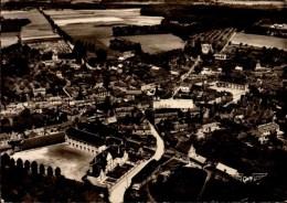 76-LA FRANCE VUE DU CIEL..DOUDEVILLE...VUE GENERALE..CPSM GRAND FORMAT - France