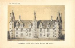 Château Ducal De Nevers - XVe Siècle - Carte SUPRA, Non Circulée - Nevers