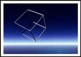 Bund / Germany: 'Optische Illusionen - Weltraum, 2013' / 'Optical Illusions - In Space', Unused - Cartoline Stereoscopiche