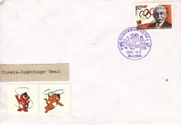 OLYMPISCHE SPIELE-OLYMPIC GAMES, Korea Rep./Seoul, 1988, Special Postmark !! - Summer 1988: Seoul