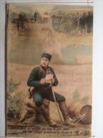 Guerre De 1914, Semblable Au Chant Du Coq Le Son Clair De Ses Coups..., Soldat De Cahors - Guerre 1914-18